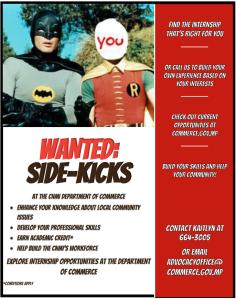 Batman and Robin Intern Flyer